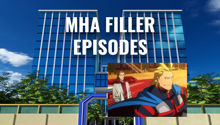My Hero Academia Filler Episode List