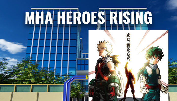 My Hero Academia Movie Heroes Rising Release Date & Trailers