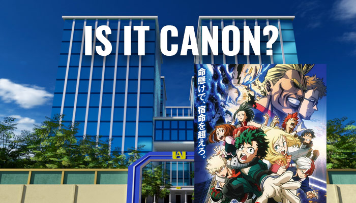 Is The My Hero Academia: Two Heroes Movie Canon?