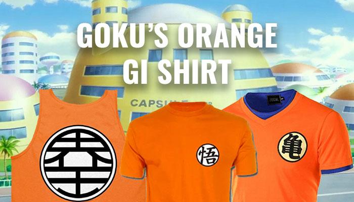 DBZ - Goku's Orange Shirt Guide